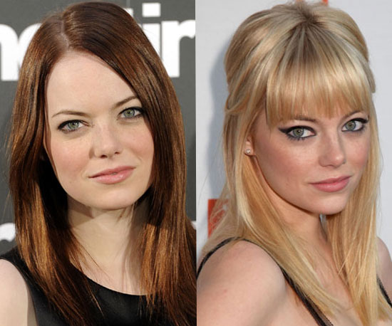 Gallery images and information: Emma Stone Blonde Vs Red
