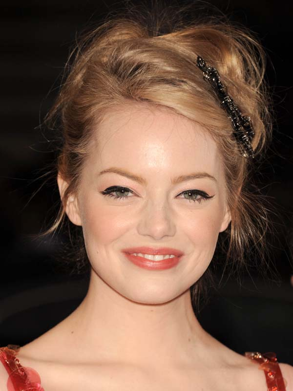 Emma Stone Strawberry Blonde Cool Celebrity Hair Color